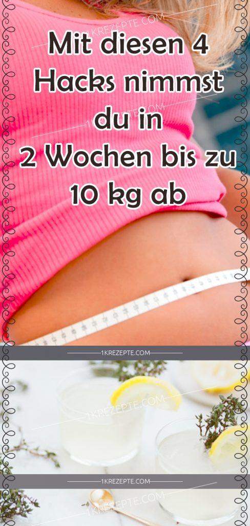 schnell abnehmen 10kg